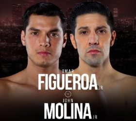 Видео боя Омар Фигероа-мл — Джон Молина мл / Omar Figueroa Jr vs John Molina Jr