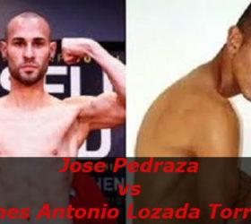 Бой Хосе Педраса — Инес Антонио Лозада Торрес