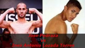 Бой Хосе Педраса - Инес Антонио Лозада Торрес