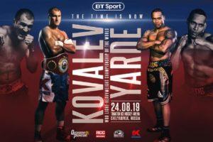 Fight Sergey Kovalev vs. Anthony Yarde