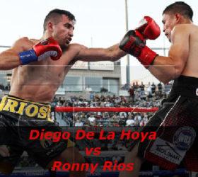 Видео боя Диего Де Ла Хойя — Ронни Риос