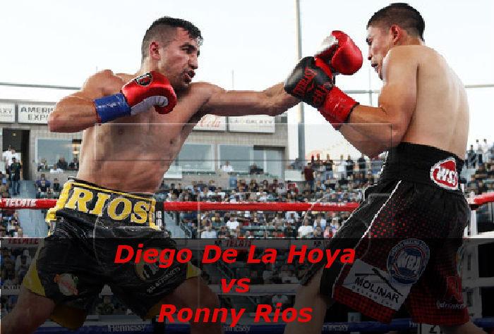 Бой Диего Де Ла Хойя - Ронни Риос