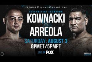 Fight Chris Arreola vs. Adam Kownacki