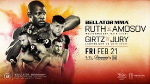 Bellator 239: Рут - Амосов - дата, кард, трансляция