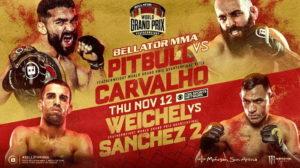 Bellator 252: Патрисиу Фрейри vs Педро Карвальо