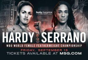Бой Хизер Харди - Аманда Серрано - Heather Hardy vs Amanda Serrano.jp