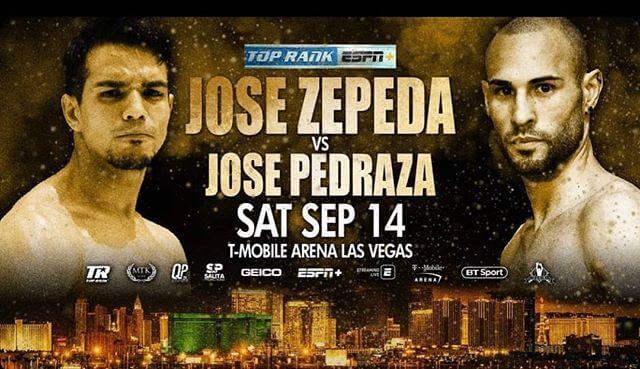 Бой Хосе Педраса - Хосе Сепеда - Jose Pedraza vs Jose Zepeda