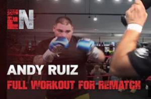 Видео: Тренировка Руиса перед реваншем с Джошуа