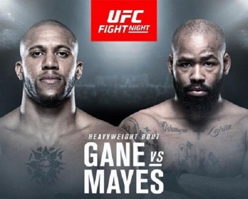 Видео боя Сирил Ган - Дон'Тэйл Майс / UFC Fight Night 162