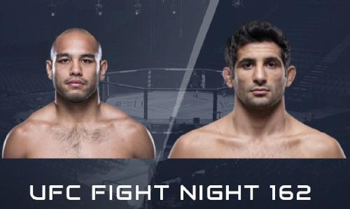 Видео боя Фрэнк Камачо - Бенэил Дариуш / UFC Fight Night 162