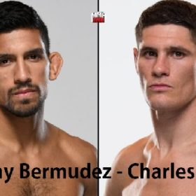 Видео боя Мэнни Бермудес — Чарльз Роса / UFC on ESPN 6