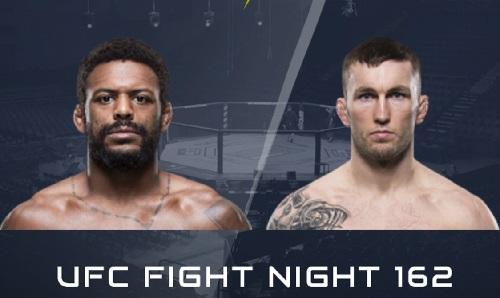 Видео боя Майкл Джонсон - Стиви Рэй / UFC Fight Night 162