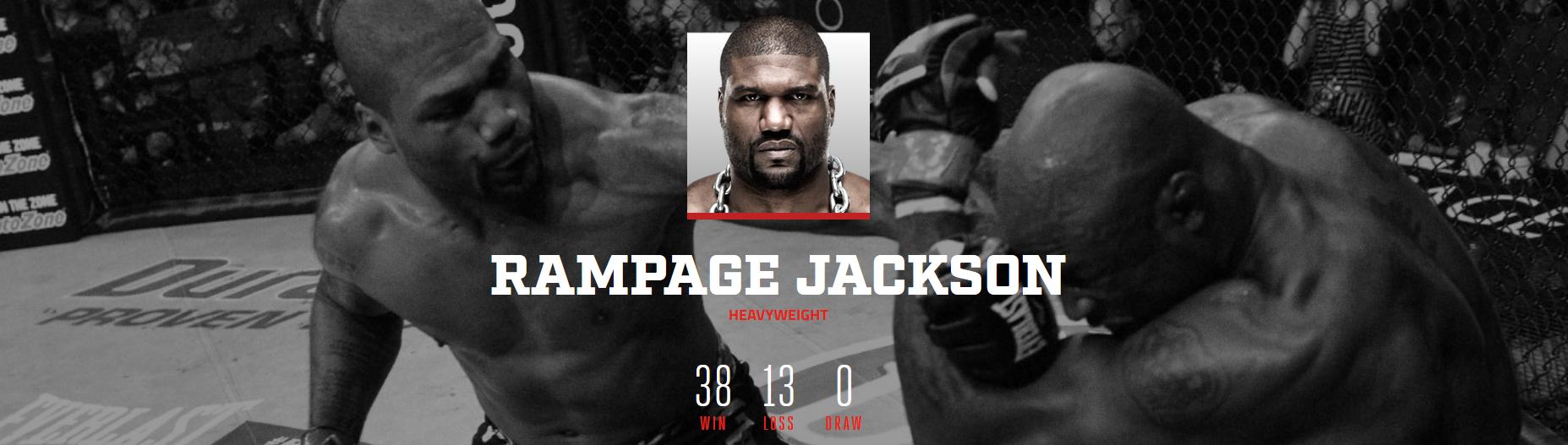 Quinton Jackson MMA Rec