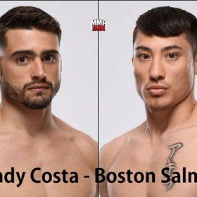 Видео боя Рэнди Коста — Бостон Сэлмон / UFC on ESPN 6