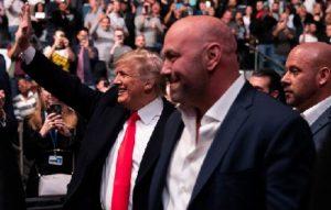 60 тысяч долларов заплатил Трамп за посещение UFC 244
