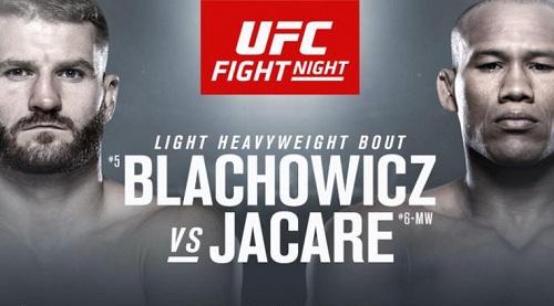Прямая трансляция боя Ян Блахович — Роналду Соуза / UFC Fight Night 164