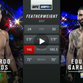 Видео боя Рикардо Рамос — Луис Эдуардо Гарагорри / UFC Fight Night 164