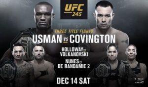 Трансляция UFC 245
