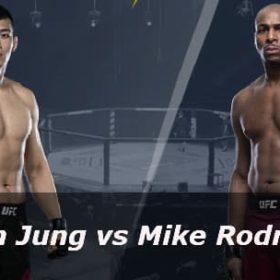 Видео боя Да Ун Джанг — Майк Родригес / UFC Fight night 165