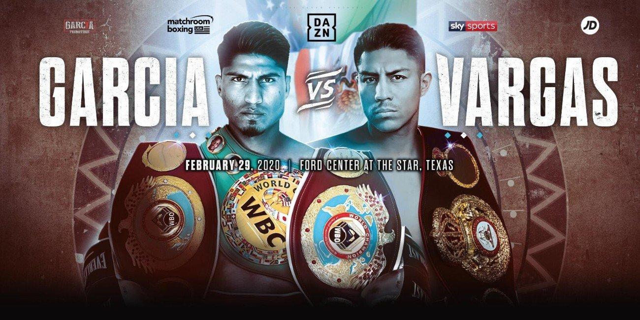 Афиша: Бой Майки Гарсия - Джесси Варгас / Mikey Garcia vs Jessie Vargas