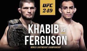 UFC 249 Nurmagomedov vs Ferguson