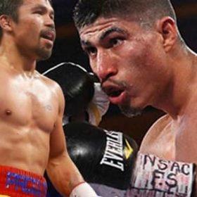 Майки Гарсия планирует бой с Мэнни Пакьяо