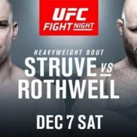 Видео боя Стефан Стрюве — Бен Ротуэлл / UFC on ESPN 7