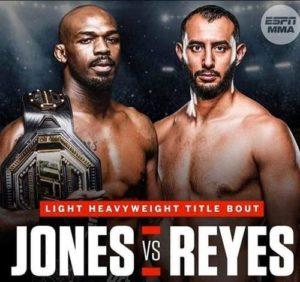 UFC 247 Jon Jones vs Dominick Reyes