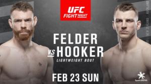 UFC Fight Night 168: Фельдер - Хукер - дата, кард, трансляция