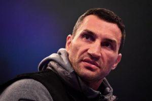 Владимир Кличко говорит о возвращении на ринг