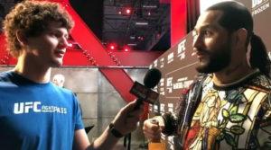 Боец UFC Чейз Хупер разыграл Хорхе Масвидала