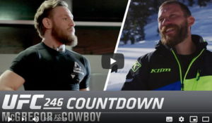 Обратный отсчет UFC 246 Макгрегор - Серроне