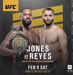 Прямая трансляция UFC 247 - Джонс - Рейес
