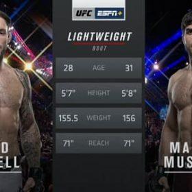 Видео боя Брэд Ридделл — Магомед Мустафаев / UFC Fight Night 168