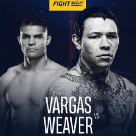 Видео боя Брок Уивер — Казула Варгас / UFC Fight Night 167