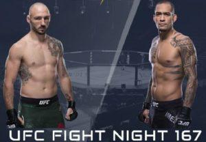 Видео боя Ландо Ванната - Янси Медейрос / UFC Fight Night 167