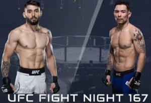 Видео боя Роджерио Бонторин - Рэй Борг / UFC Fight Night 167