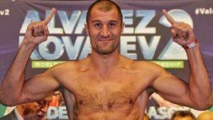 Сергей Ковалев проведет следующий бой в первом тяжелом весе