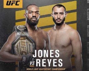 Видео боя Джон Джонс - Доминик Рейес / UFC 247