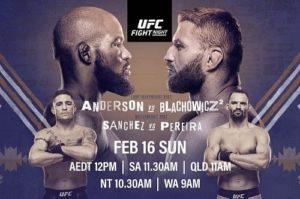 UFC Fight Night 167: Андерсон - Блахович - дата, кард, трансляция