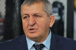 Абдулманап Нурмагомедов прокомментировал отмену боя Хабиб - Тони