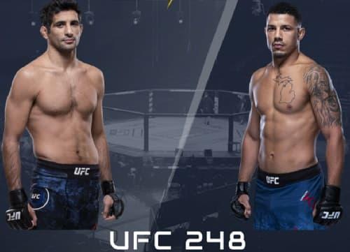 Видео боя Бенэил Дариуш - Драккар Клозе / UFC 248