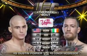 Видео боя Дастин Пуарье - Конор Макгрегор / UFC 178