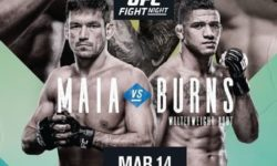 Full fight video: Demian Maia vs. Gilbert Burns / UFC Fight Night 170
