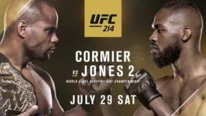 Видео боя Джон Джонс - Даниэль Кормье 2 / UFC 214