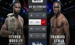 Видео боя Камару Усман — Тайрон Вудли / UFC 235