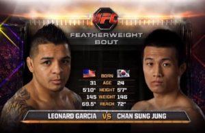 Видео боя Чан Сон Чунг - Леонард Гарсиа / UFC 163