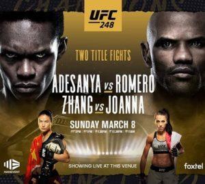 UFC 248 - Прямая трансляция