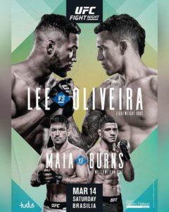 UFC Fight Night 170 - Прямая трансляция