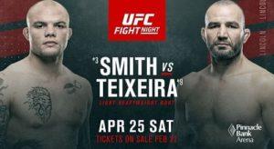 UFC Fight Night 173 / Smith vs Teixeira